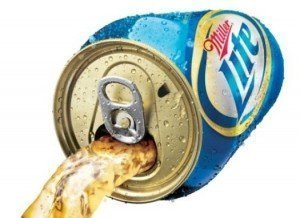 miller lite punch top