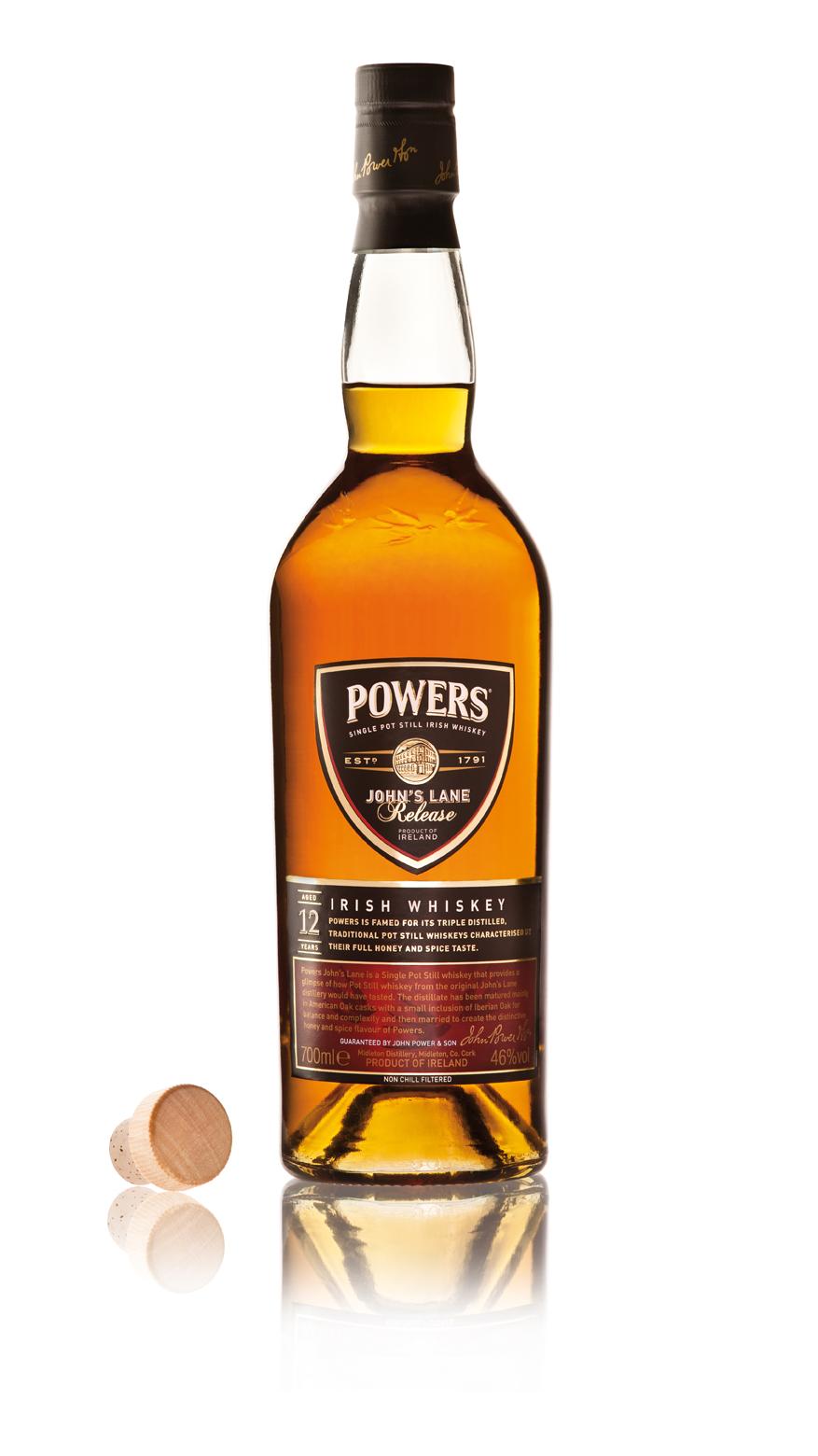 Powers John's Lane Irish Whiskey 12 Years Old
