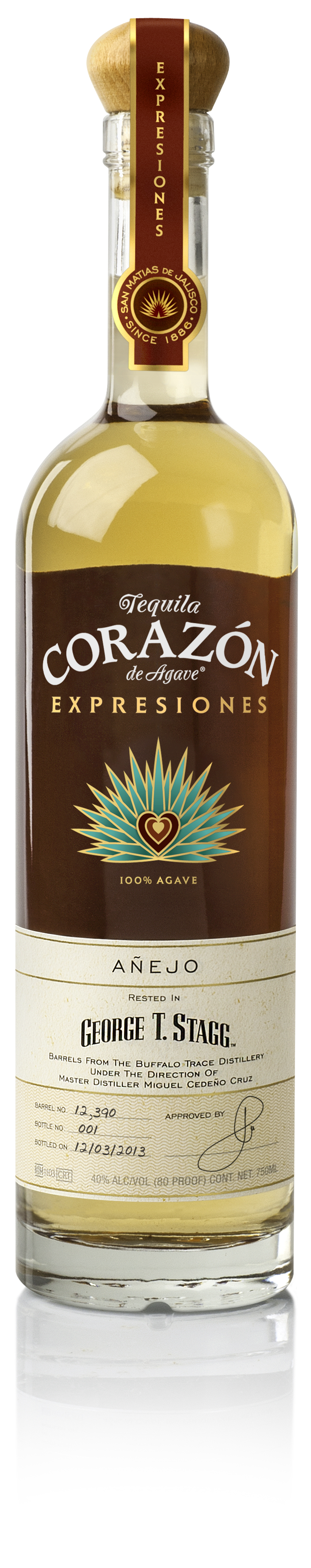 Review  Expresiones del Corazon Barrel-Aged Tequila (Blanco cdaa0be8871