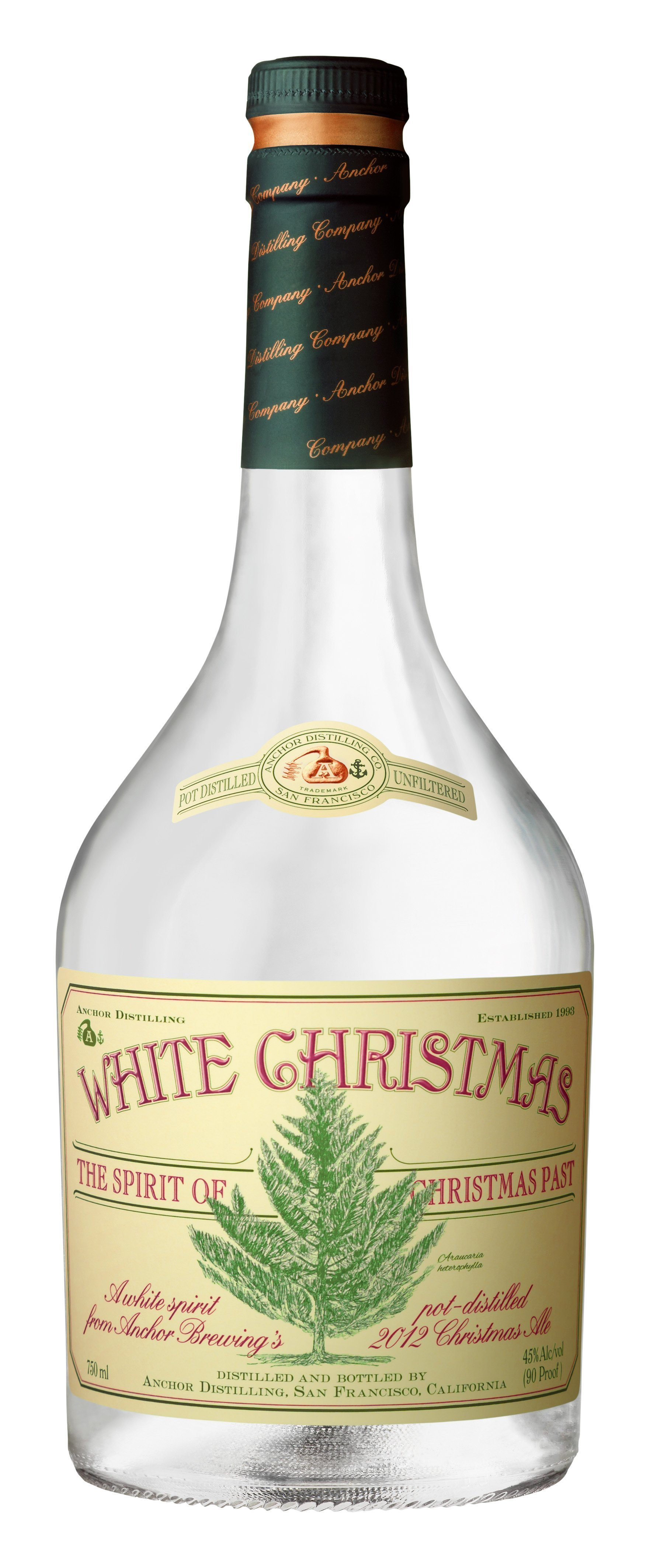 Anchor Steam Christmas Ale.Review Anchor Distilling White Christmas White Whiskey 2013