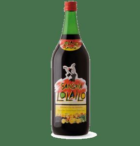 Lolailo sangria bottle shot
