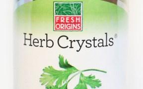 Herb Crystals Cilantro