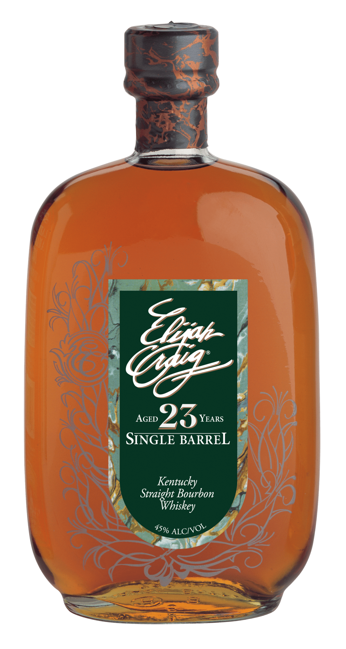 Elijah Craig Single Barrel Bourbon 23 Years Old