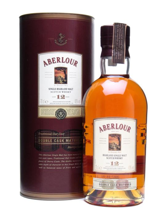 Aberlour Highland Single Malt 12 Years Old Double Cask Matured