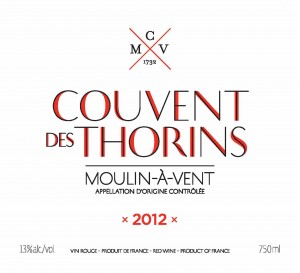 CMV Couvent Des Thorins Brand