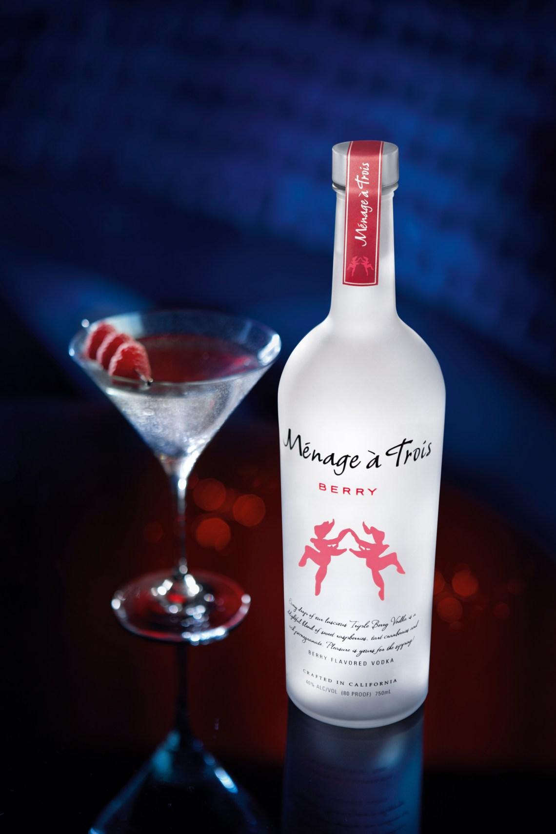 Menage a Trois Berry Vodka