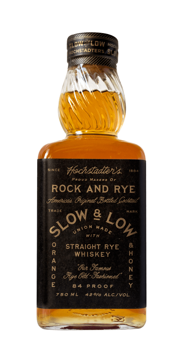 Hochstadter's Slow & Low Rock and Rye