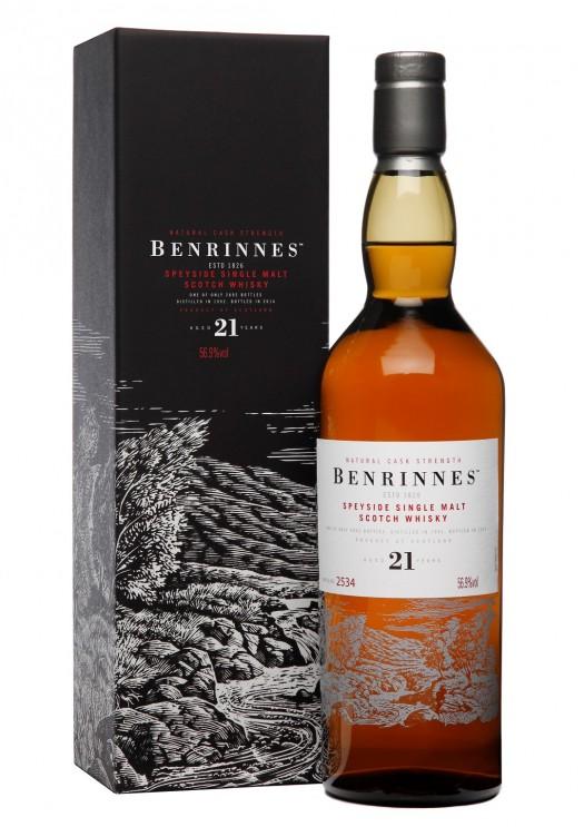 Benrinnes 21YO Bottle & Box