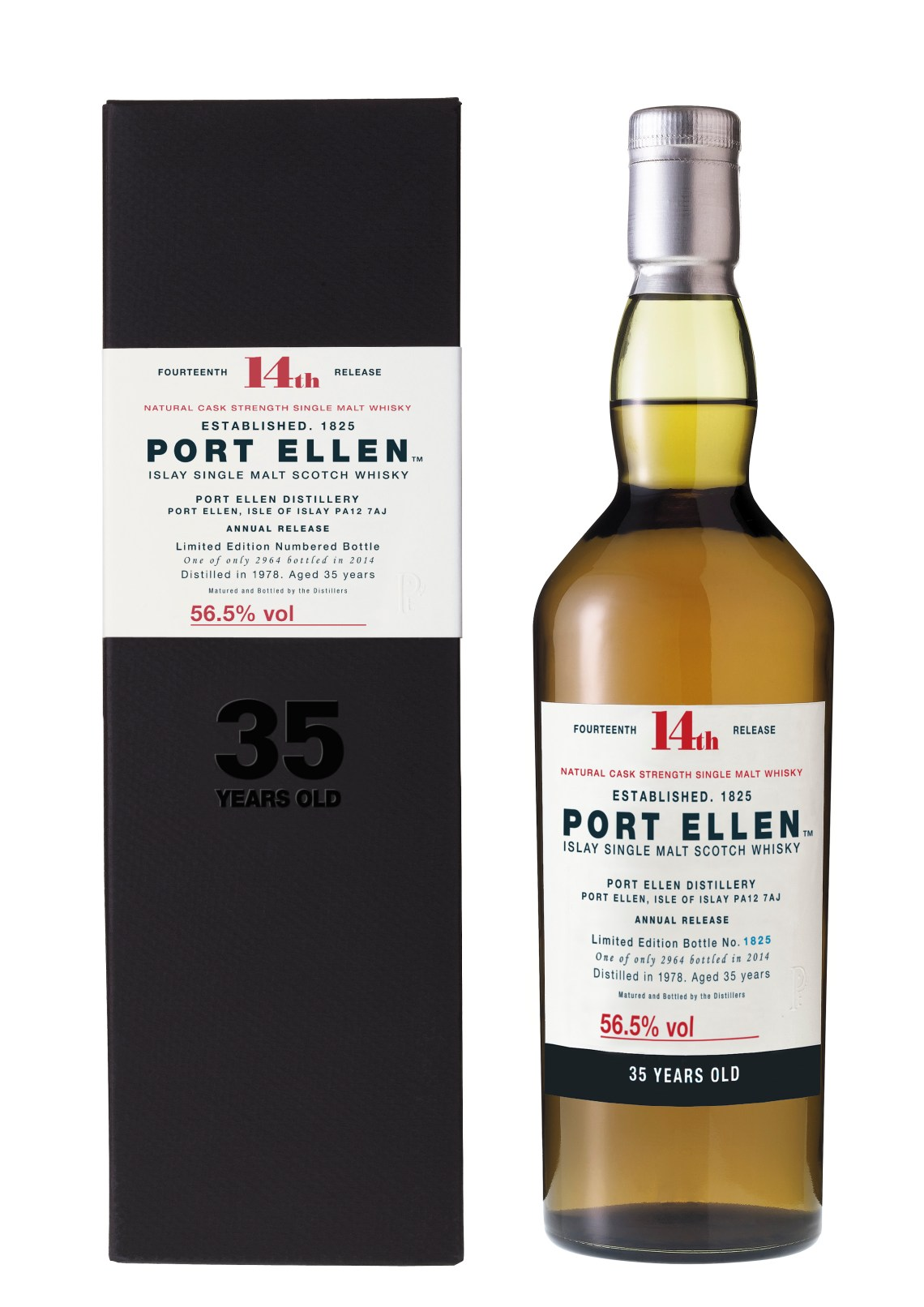 Port Ellen 35 Years Old Limited Edition 2014