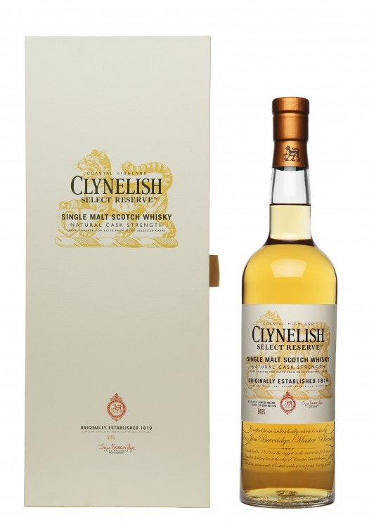 Clynelish Select Reserve Bottle & Box