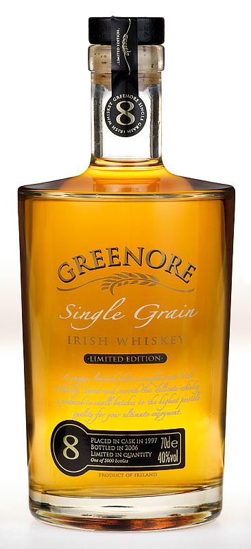 Greenore Single Grain Irish Whiskey 8 Years Old