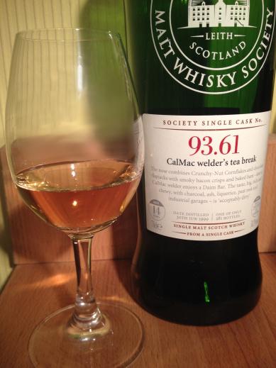 Scotch Malt Whisky Society Cask 93.61