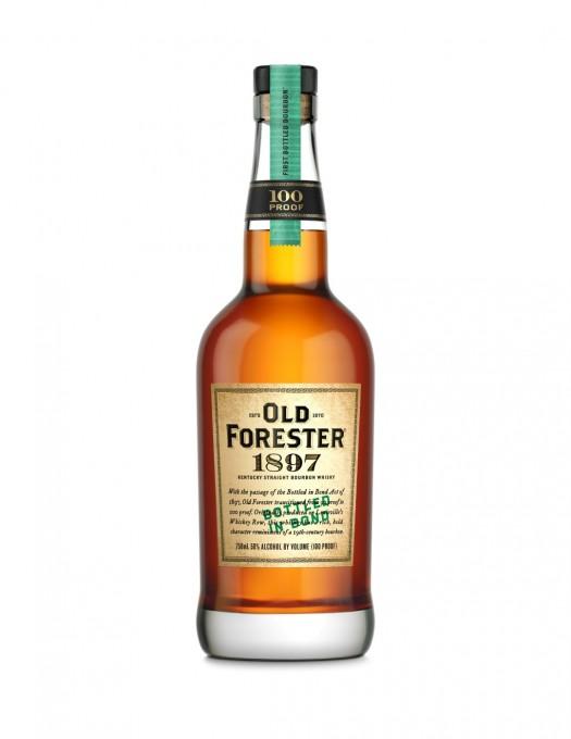 Old Forester 1897 Bottle Shot