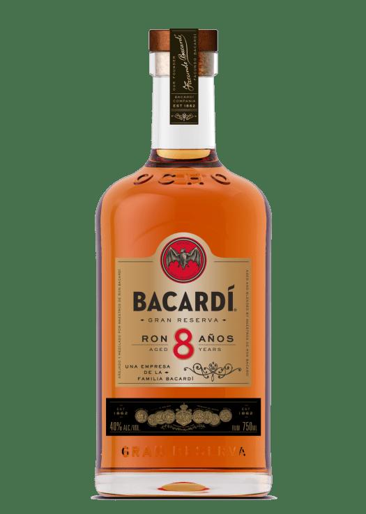 Bacardi Ocho Bottle
