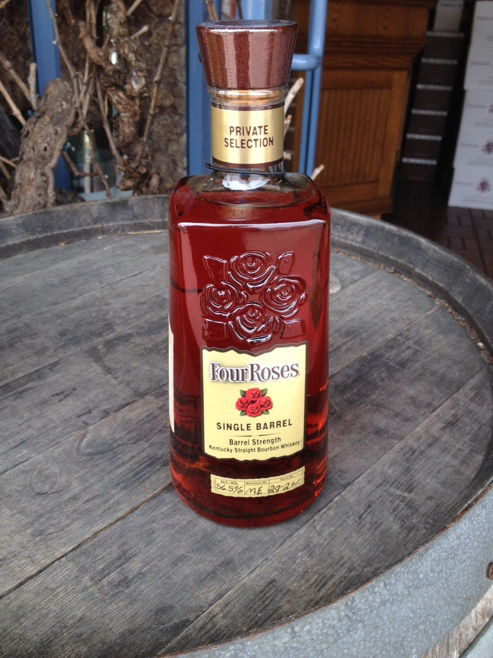Four Roses Single Barrel Private Selection from SF Wine Trading