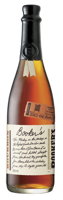 """Booker's Bourbon """"Oven Buster Batch"""" 2015-04"""
