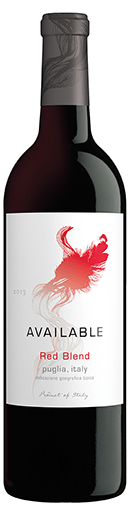 Available 2013 Red Blend Bottle Shot