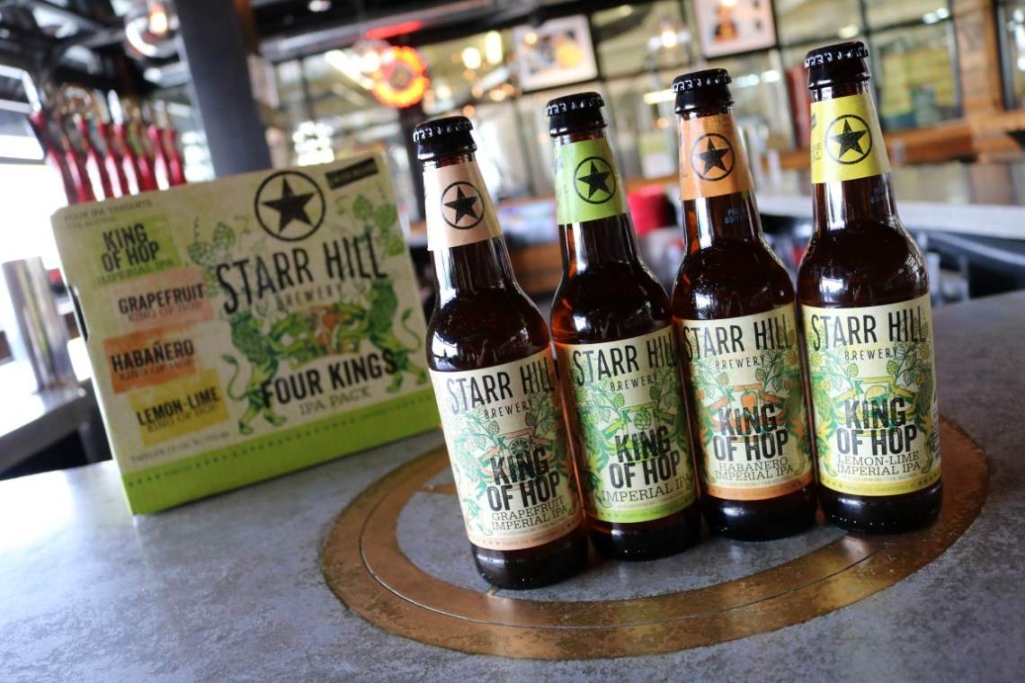 Starr Hill King of Hop Lemon-Lime Imperial IPA