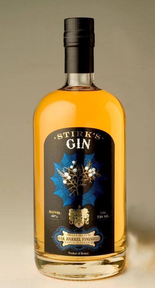 Stirk's Gin Oak Barrel Finished