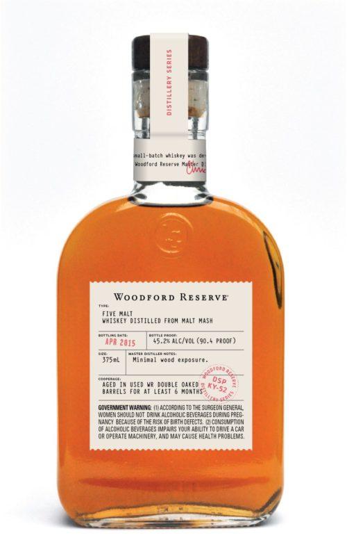 woodford reserve Five Malt Bottle Shot