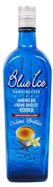Blue Ice Creme Brulee