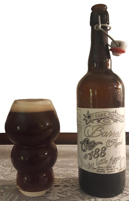 Bear Republic Barrel 188 This Little Figgie Ale