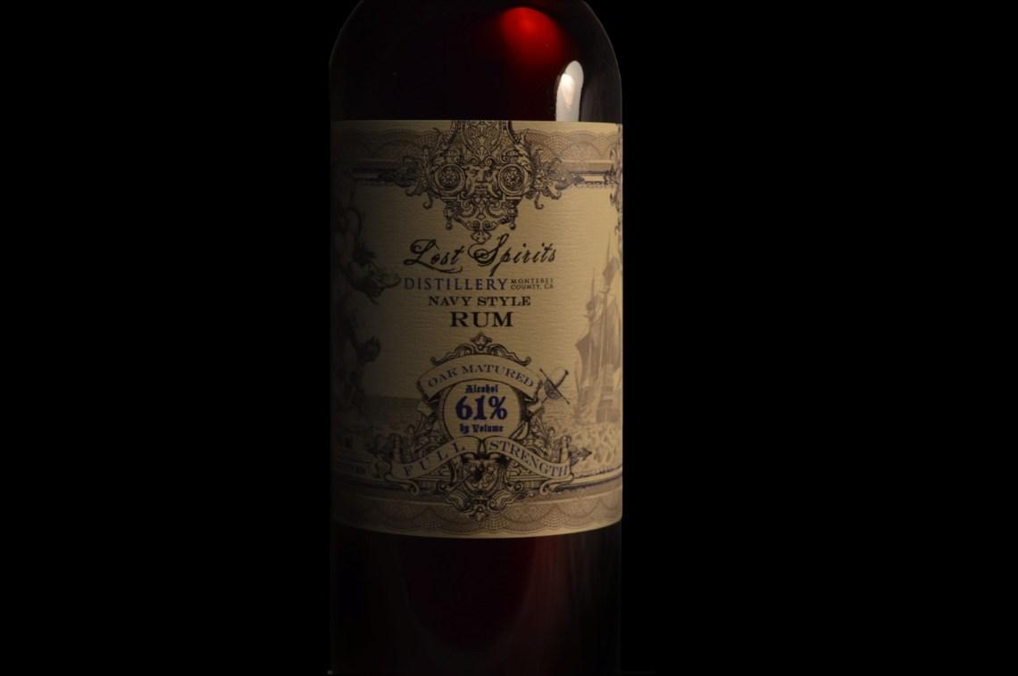 Lost Spirits Distillery Navy Style Rum (2017)