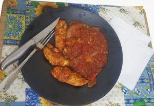 Basque Roast Chicken