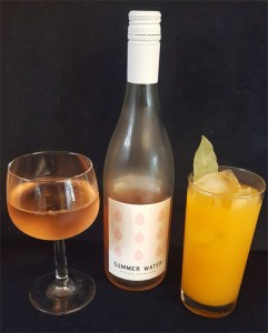 Summer Water cocktails