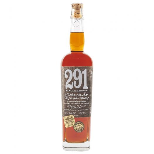 Review: Distillery 291 Single Barrel Colorado Rye And