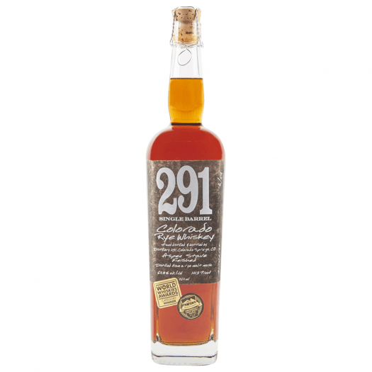 Review: Distillery 291 Single Barrel Colorado Rye And