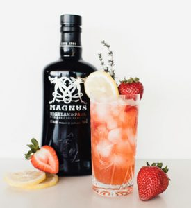 Strawberry Moon Cocktail