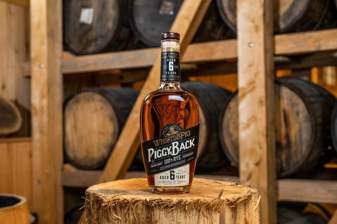 WhistlePig PiggyBack 100% Rye 6 Years Old