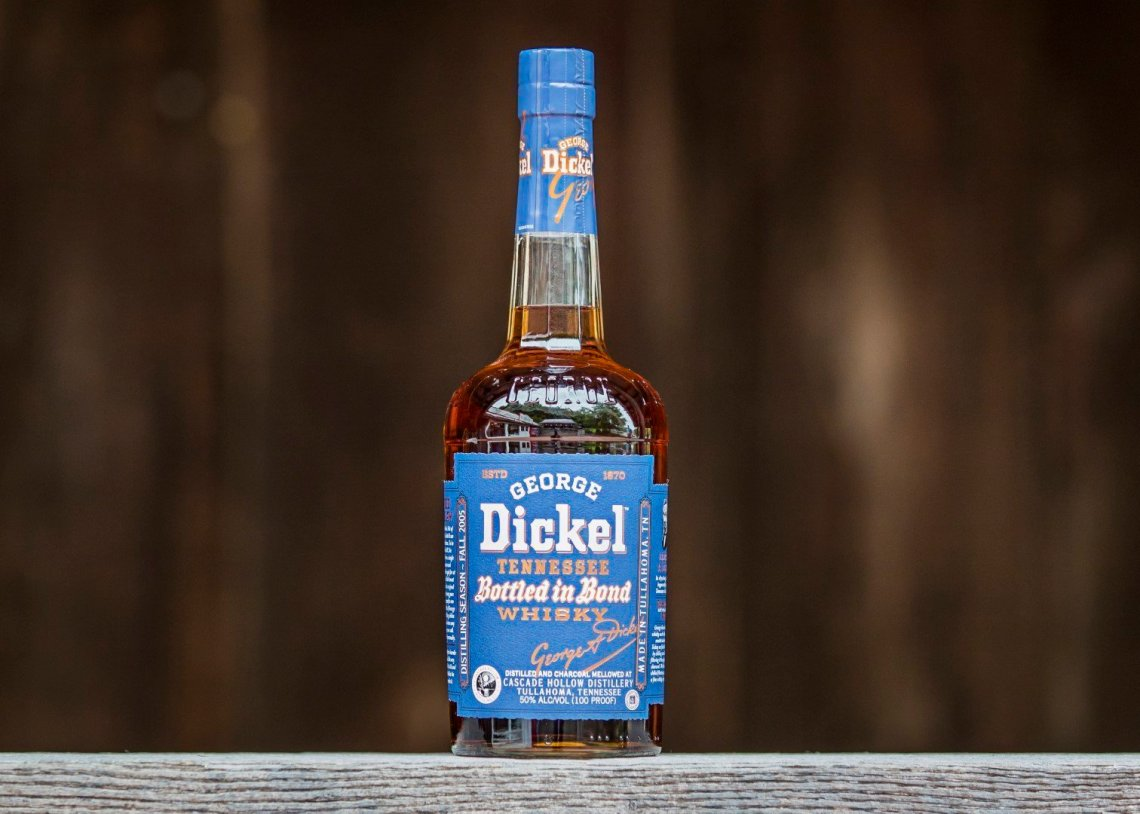 George Dickel Tennessee Whiskey Bottled in Bond 13 Years Old (2019)