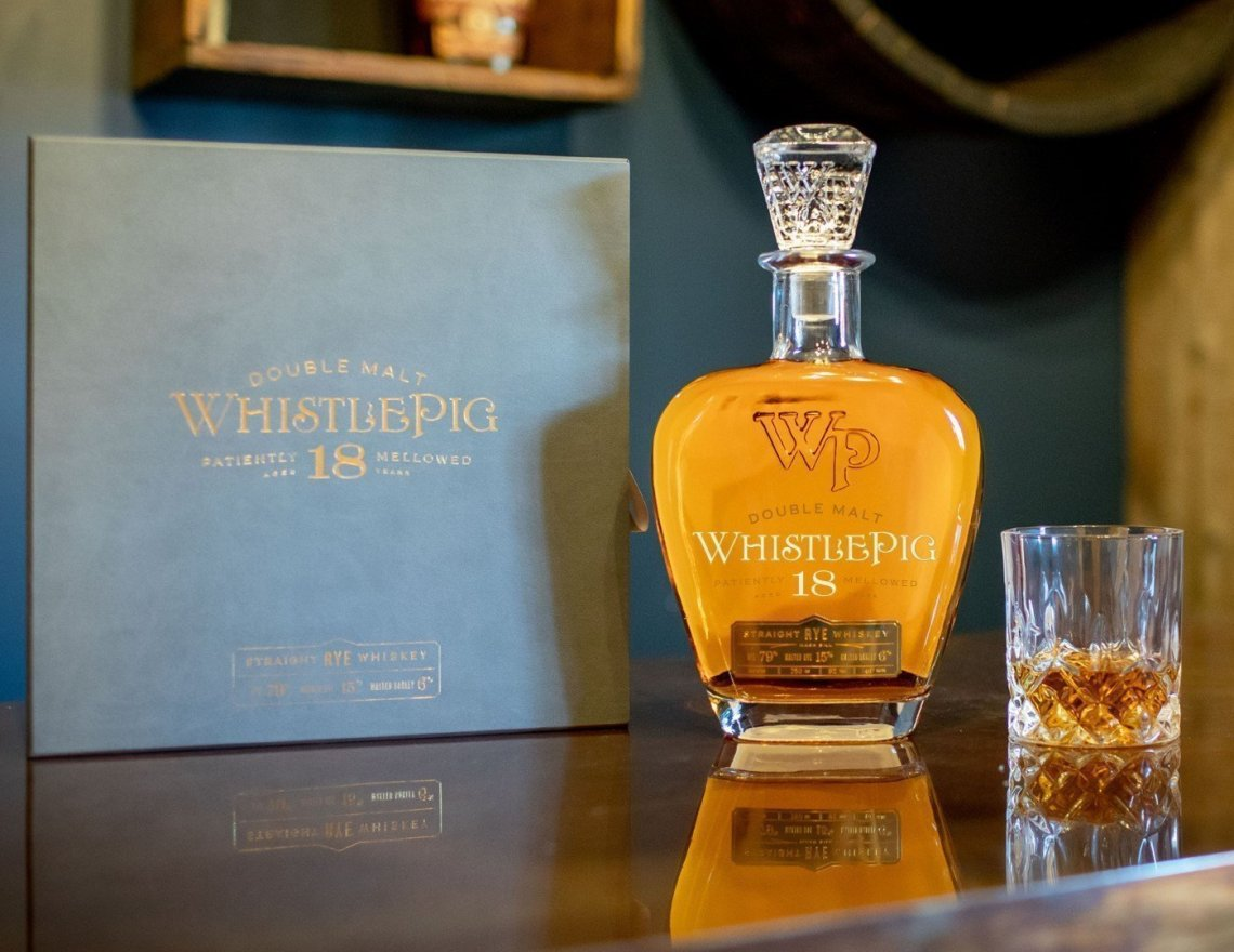 WhistlePig Double Malt Rye 18 Years Old