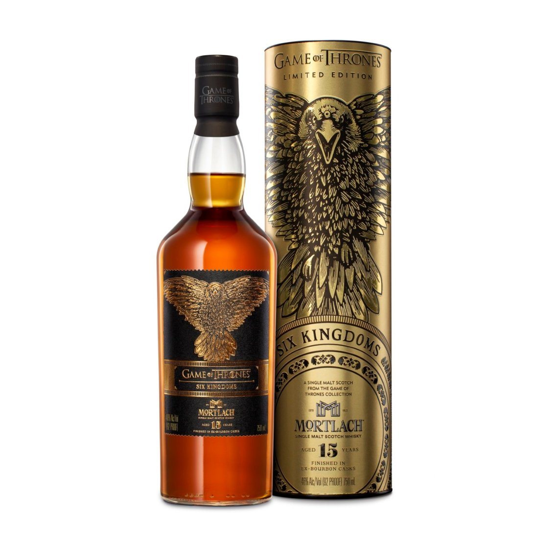 Game of Thrones Mortlach Six Kingdoms 15 Years Old