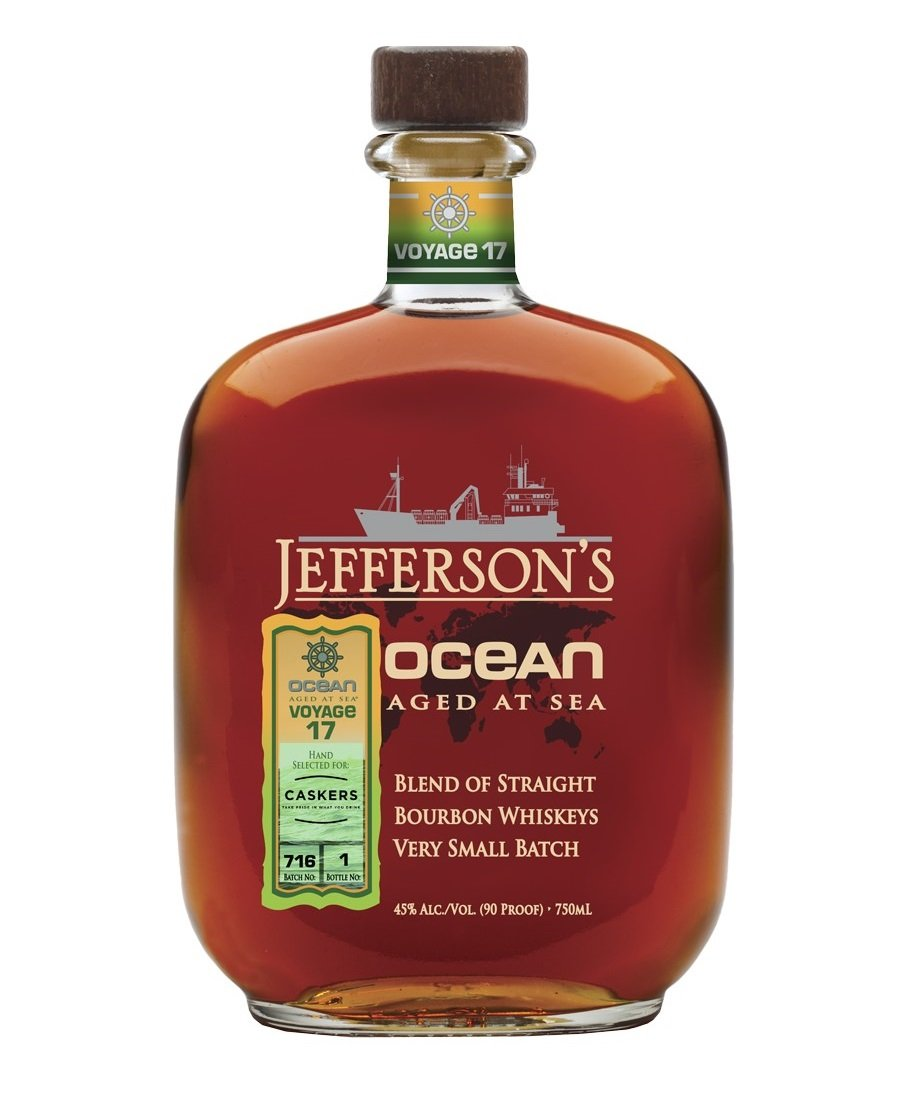 Jefferson's Ocean Aged at Sea Voyage 17 Private Selection for Caskers