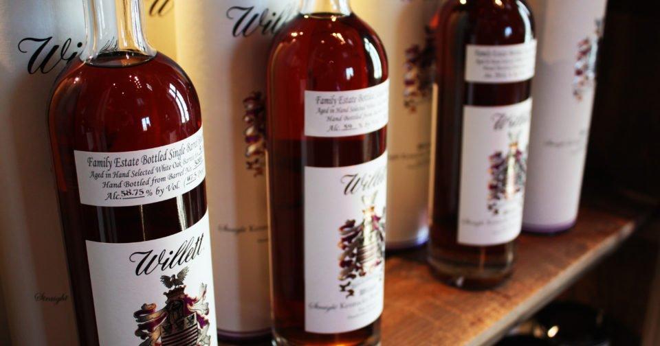 Willett Family Estate Single Barrel Bourbon 4 Years Old