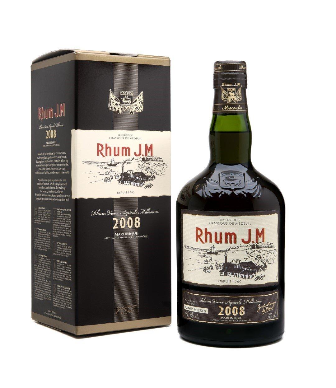 Rhum J.M. 10 Years Old Vintage 2006