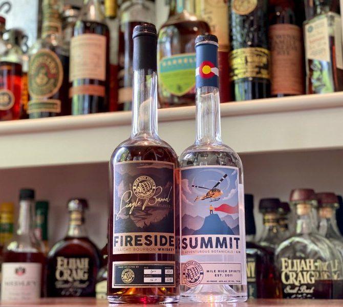 Mile High Spirits Fireside Straight Bourbon Single Barrel