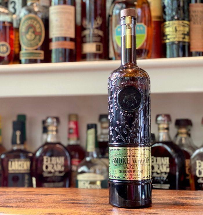 Smoke Wagon Uncut Unfiltered Bourbon
