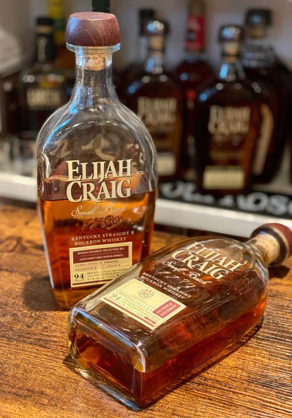 Elijah Craig Small Batch Bourbon Privately Selected Barrel (Dry 85)
