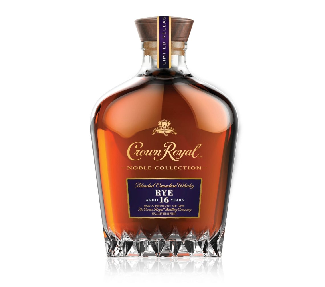 Crown Royal Noble Collection Rye 16 Years Old