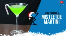 Mistletoe Martini Cocktail