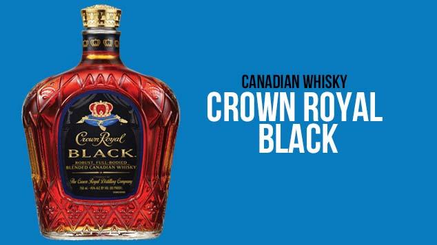 Crown Royal Black Whisky