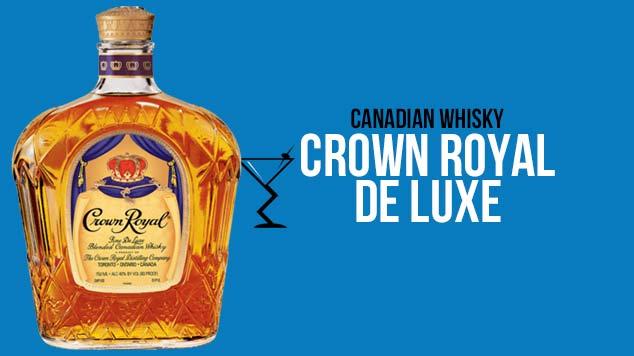 Crown Royal De Luxe Whisky