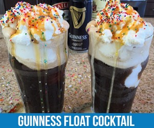 Guinness Float Cocktail