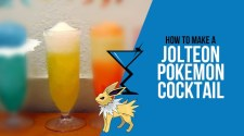 Jolteon Pokemon Cocktail