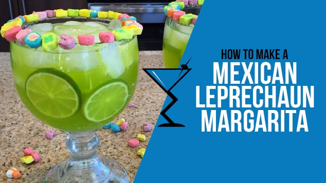 Mexican Leprechaun Margarita