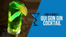 Qui Gon Gin Cocktail